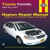 Toyota Corolla Automotive Repair Manual