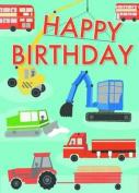 Happy Birthday Doodles - Machines