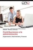 Contribuciones a la Administracion [Spanish]
