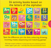 Alphabet Activity Books  Pack [Paperback]