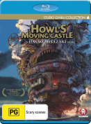 Howl's Moving Castle [Blu-ray] [Region B] [Blu-ray]