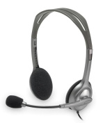 Logitech H110 Stereo Headset with Noise-Cancelling Microphone