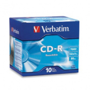 Verbatim CD-R 700MB Jewel Case 52x ~ 10Pk