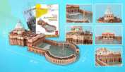 St Peters Basillca 3D Puzzle with Book