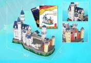 Daron CFMC062H Neuschwanstein Castle 3D Puzzle With Book