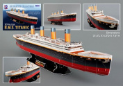 3D Puzzles CF4011H Titanic 3D Puzzle - 113 Pieces