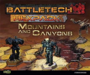 Battletech Hexpack Mountains and Canyons
