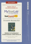 New Mystatlab with Pearson Etext -- Standalone Access Card -- For Statistics for the Behavioral and Social Sciences