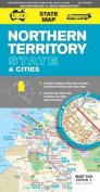Northern Territory State and Cities Map 549 5th