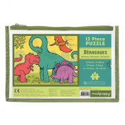 Dinosaurs 12 Piece Puzzle Multi