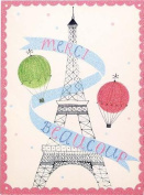 Merci Beaucoup Glitz Thank You Notes