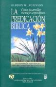 Predicacin B-Blica, La [Spanish]