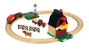 Farm Railway Set - BRIO Rail - from Marbel Toys