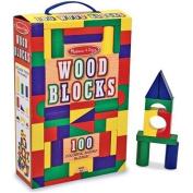 100 Wood Blocks - Melissa & Doug