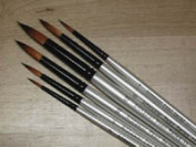 ArtMaster Pearl Synthetic Round Brush Set No1 NEW!