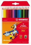 Trio Coloured Pencils Swan STABILO