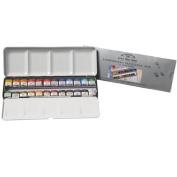 Artists' Watercolour 24 Half Pan Lightweight Sketchers Box WINSOR & NEWTON