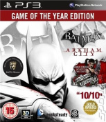 Batman: Arkham City [Region 2] [Blu-ray]