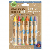 Health Science Labs Endangered Species Carded Bath Crayons