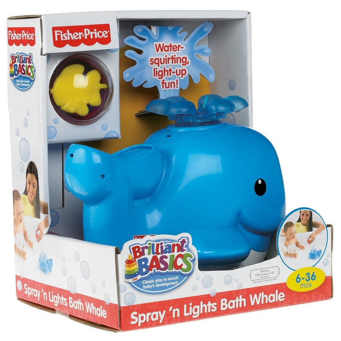 Fisher Price Whale Bath Baby Baby: Buy Online from Fishpond.co.nz