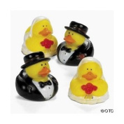 Bride And Groom Rubber Duckys [Toy]