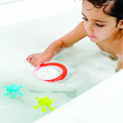 Boon Water Bugs Floating Bath Toys with Net, Green