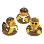 12 ct - Pilot Aviator Rubber Ducks