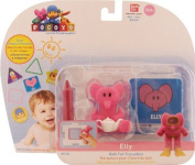 Pocoyo & Friends Elly Bath Fun Traceables Figure Toy