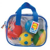 Cuckoo Alex Rub-a-Dub Sports Squirters for the Tub Bath Toy