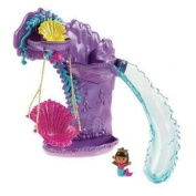 Dora the Explorer Swing & Splash Mermaid Adventure Bath Playset