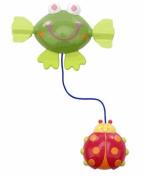 Baby Bath Wind Up Toy ~ Frog & Ladybug