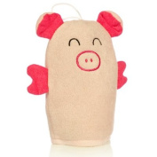 Light Pink Pig Wash Mitt