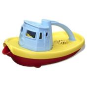 Green Toys Eco Friendly BPA Tugboat Bath Toy Blue