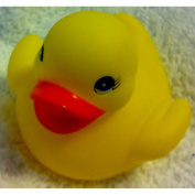 Classic Yellow Rubber Ducky 5.1cm Party Favours