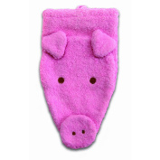 Washcloth Hand Puppet Pig By Furnis Large
