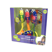 Whoozit Lights and Sound Spiral Toy Bar