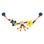 Heimess Wooden Stroller Chain - Octopus