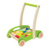 Hape E0371 Block and Roll Toddler Toy