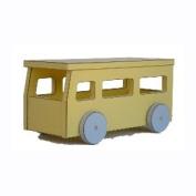 Pastel Toys School Bus