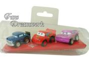 Disney Princess Toy Vehicle -3 pcs Princess Pull Car