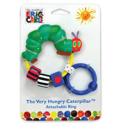 Kids Prefered The Very Hungry Caterpillar Attachable Bead Rattle