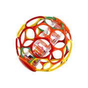 Oball with Rainstick Rattle - Assorted Colours