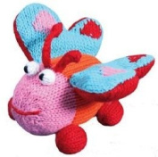 Organic Zubels Butterfly Franny 8.9cm rattle