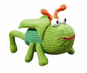 Organic Zubels Grasshopper Gordan 15cm rattle