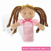 Little Princess Rattle Tan by North American Bear Co.