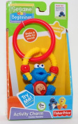 Fisher Price Sesame Beginnings Activity Charm Cookie Monster