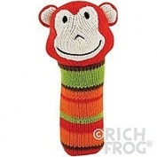 Rich Frog K'nits Squeak Easy Monkey Baby Squeaky Toy