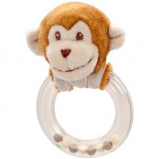 Monkey Ring Rattle By Douglas