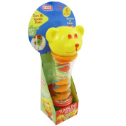 Tumbling Friend Teddy Bear Baby Rattle Toy  .