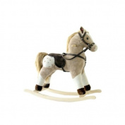 Alexander Taron MT513 Brown and White Rocking Horse